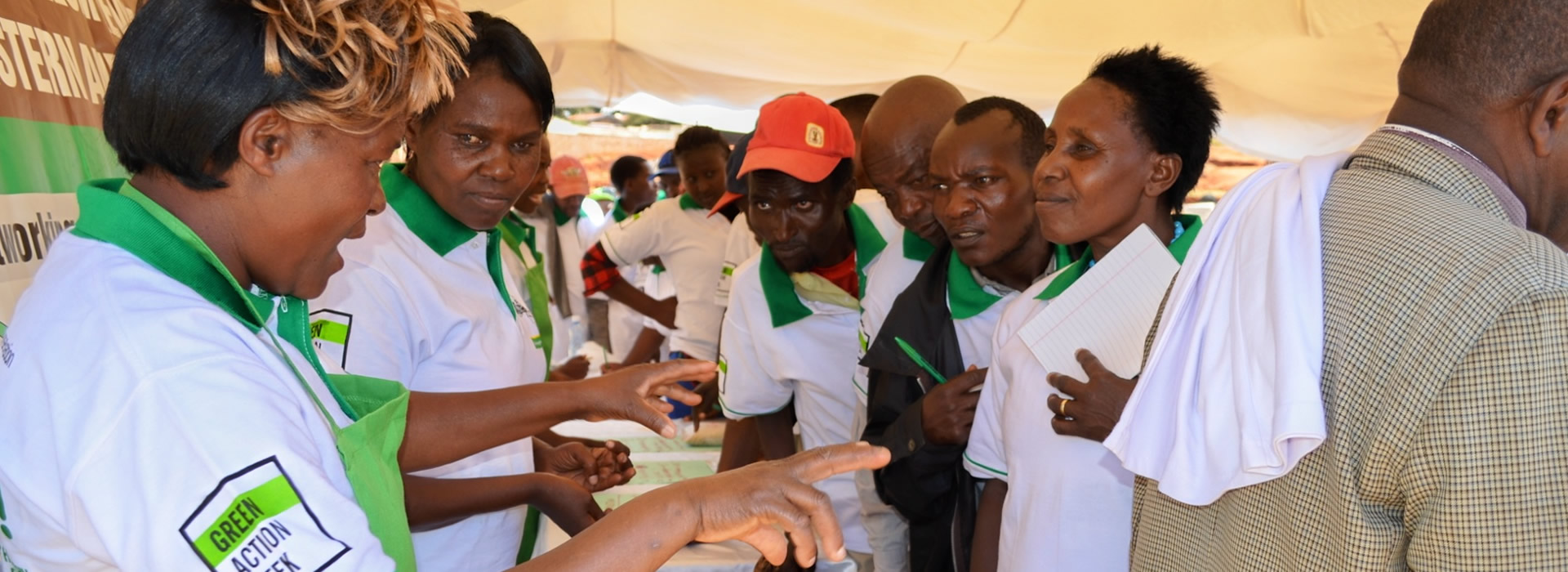 Farmers Exhibitions during World Food Day Celebrations at Lower Eastern Zone