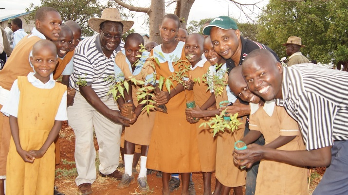 Implementing one million tree campaign